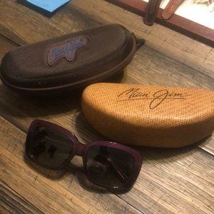 Maui Jim Polarized Lani Purple Sunglasses